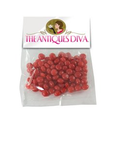 Large Candy Bag (with Header Card) with Cinnamon Red Hots