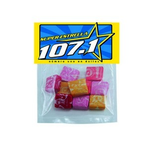 Large Candy Bag (with Header Card) with Starburst