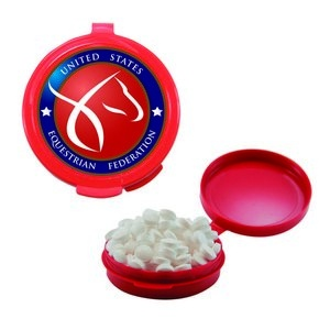 Hook-N-Go Plastic Pill Case with Mints