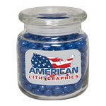 Large Apothecary Jar with Corporate Jelly Beans