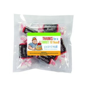 Personalized Candy Promo Pack (LG) w/ Custom Candy Tootsie Rolls