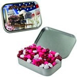 Large Mint Tin with Custom Candy Hearts