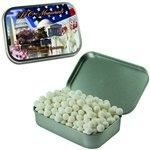 Large Mint Tin with Custom Candy Signature Peppermints