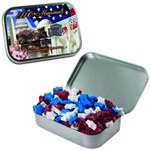 Large Mint Tin with Custom Candy Stars