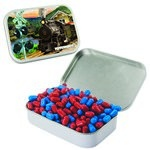 Large Mint Tin with Custom Candy Colored Bullet Candy