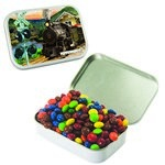 Large Mint Tin with Custom Candy Chocolate Littles
