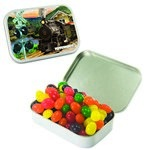 Large Mint Tin with Custom Candy Jelly Beans