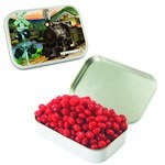Large Mint Tin with Custom Candy Cinnamon Red Hots