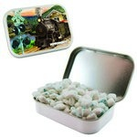Large Mint Tin with Custom Candy Sugar-Free Gum