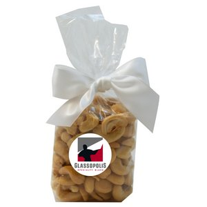 Mug Stuffer Gift Bag with Cashews - Clear