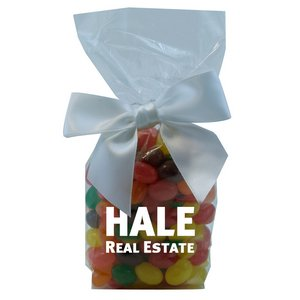 Mug Stuffer Gift Bag with Jelly Beans - Clear