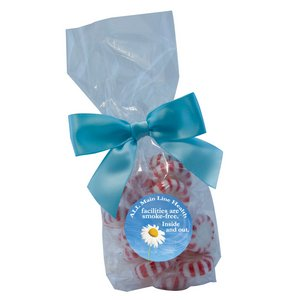 Mug Stuffer Gift Bag with Starlite Mints - Clear 