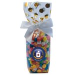 Mug Stuffer Gift Bag with Gum - Gold Dots