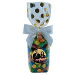 Mug Stuffer Gift Bag with M&M's - Gold Dots