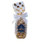 Mug Stuffer Gift Bag with Pistachios - Gold Dots