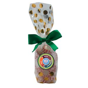 Mug Stuffer Gift Bag with Starlite Mints - Gold Dots