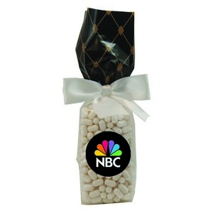 Mug Stuffer Gift Bag with Colored Bullet Candy - Black Diamonds 