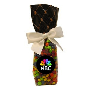 Mug Stuffer Gift Bag with Chocolate Littles - Black Diamonds