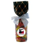 Mug Stuffer Gift Bag with Jelly Beans - Black Diamonds
