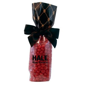 Mug Stuffer Gift Bag with Cinnamon Red Hots - Black Diamonds