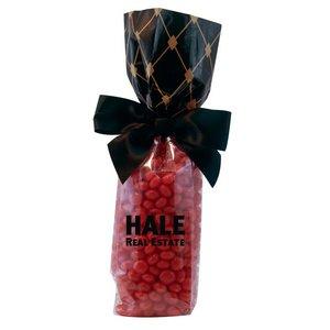 Mug Stuffer Gift Bag with Cinnamon Red Hots - Black Diamonds