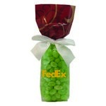 Mug Stuffer Gift Bag with Corporate Color Chocolates - Red Swirl