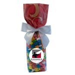 Mug Stuffer Gift Bag with Gum - Red Swirl