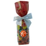 Mug Stuffer Gift Bag with Jelly Beans - Red Swirl