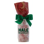 Mug Stuffer Gift Bag with Starlite Mints - Red Swirl