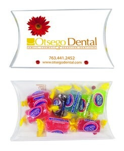 Personalized Candy Pillow Pack (Med) with Jolly Ranchers