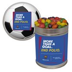 Personalized Quart Tin Jelly Beans