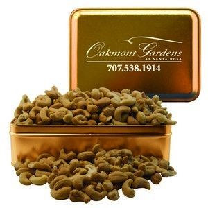 Rectangle Tin with Cashews