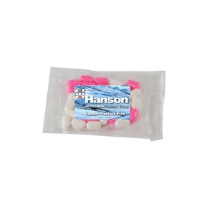 Small Promo Candy Pack with Custom Candy Colored Bullet Candy