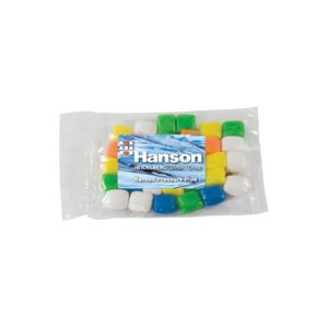 Small Promo Candy Pack with Custom Candy Gum 