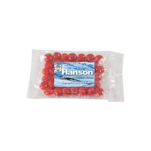 Small Promo Candy Pack with Custom Candy Cinnamon Red Hots