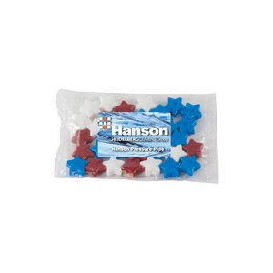 Small Promo Candy Pack with Custom Candy Stars