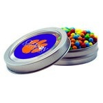 Short Round Tin with Custom Candy Mini-Tarts