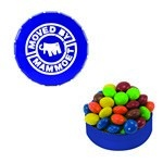 Small Snap-Top Mint Tin with Custom Candy Chocolate Littles