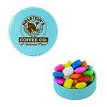 Small Snap-Top Mint Tin with Custom Candy Gum