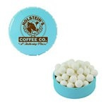 Small Snap-Top Mint Tin with Custom Candy Signature Peppermints