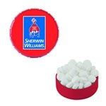 Small Snap-Top Mint Tin with Custom Candy Sugar-Free Mints