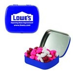 Small Mint Tin with Custom Candy Hearts