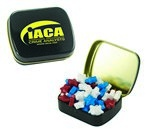 Small Mint Tin with Custom Candy Stars
