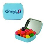 Small Mint Tin with Custom Candy Jelly Beans