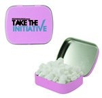Small Mint Tin with Custom Candy Sugar-Free Mints