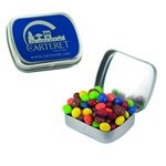 Small Mint Tin with Custom Candy Chocolate Littles
