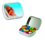 Small Mint Tin with Custom Candy Gum