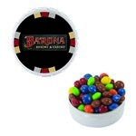 Snap-Top Mint Tin with Custom Candy Chocolate Littles