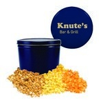 Blue Two Gallon Custom Popcorn Tin - Three Flavors