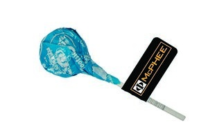 Tootsie Pop with Flag with your logo